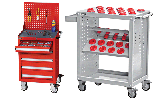 CNC TOOL STORAGE WAGON